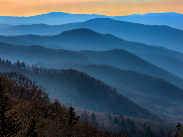 View from a Smoky's Overlook